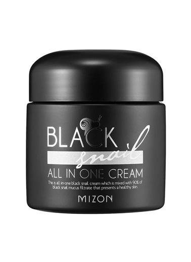 Mizon Mizon Black Snail All In One Cream Salyangoz & Bitki Ekstreli Premium Bakım Kremi Renksiz